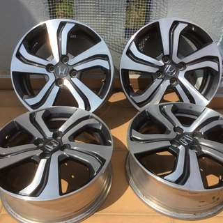 "Honda City Original 16"" Highest spec V-spec Rim"