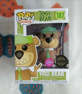 Flocked Yogi Bear