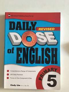 (brand new)EPH Primary 5 Daily revised DOSE of English