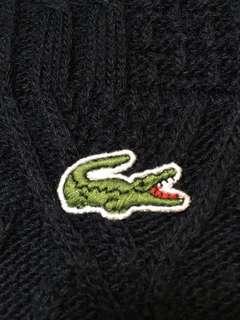 Lacoste 法國製造名牌冷衫 9成新