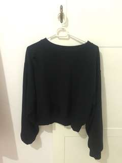 sweater ripped bershka