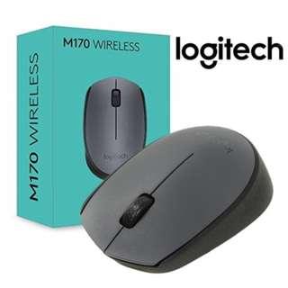 Logitech M170 Wireless Mouse (Gray)