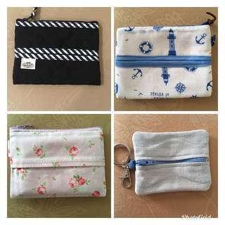 Tissue and coin pouch
