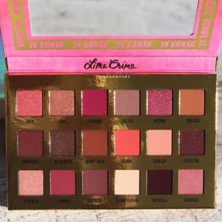 Limecrime Lime Crime Venus XL Eyeshadow Palette BRAND NEW & AUTHENTIC (PRICE IS FIRM, NO SWAPS)
