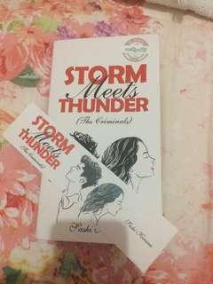 Novel Wattpad Storm Meet Thunder