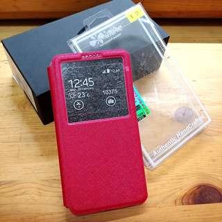 💓 包平郵 ! 全新 LG V30 / plus 手機 支架 座檯 皮套 Case 保護套
