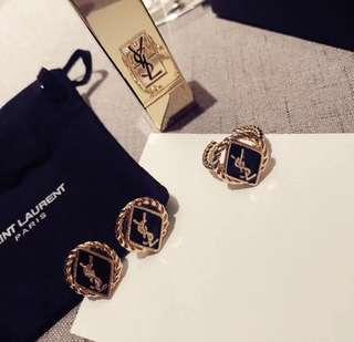 YSL earrings ring