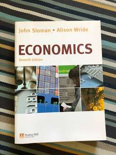 Economics - Seventh Edition / John Sloman & Alison Wride