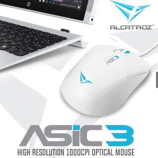 *FREE MAILING*INSTOCKS* Alcatroz Asic3 Wired Mouse