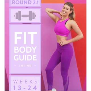 "Anna Victoria's Fit Body Guide ""FBG"" : Round 2.1 (Training)"