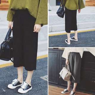 Basic Tailored Culottes