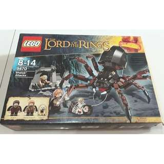 Lego Lord of the Rings Shelob Attacks - BIB and COMPLETE