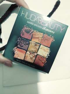 可換唇膏 huda beauty warm brown obsessions