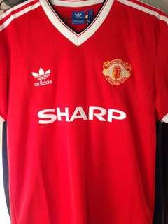 曼聯波衫 adidas originals retro Manchester United 1984