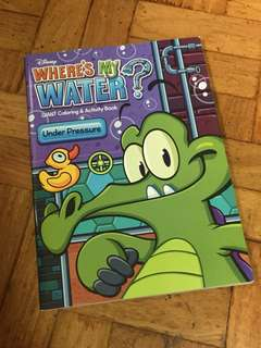 Disney where's my water activity book