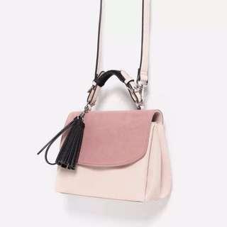 Blush Pink Fringe Crossbody Bag | 1 for $6 2 for $10