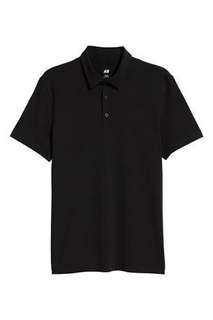 Polo Shirt H&M Black
