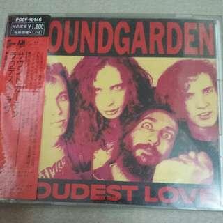 Music CD: Soundgarden–Loudest Love