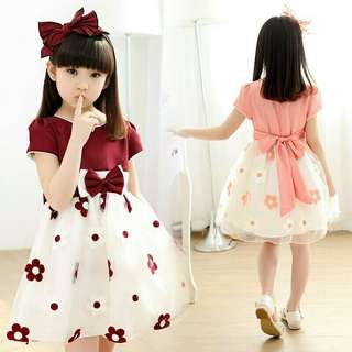 Princess Dress With Bow (PD5527)