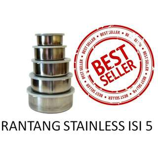 Rantang Susun Stainless isi 5