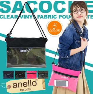 [Re-Stock] Japan Anello Shoulder Messenger Sling Bag~ Original 100% Authentic ☆New Release ☆AT-S0283