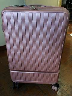 Rose Gold luggage 24 inch