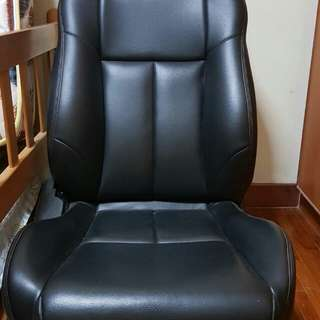 Vehicle leather seat automated
