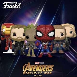 (PO) FUNKO POP Avengers Infinity War