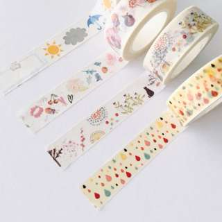Cute Washi Tapes
