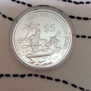 1989 $5 Silver Proof Coin