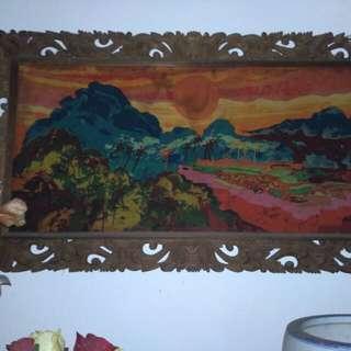 Lukisan Batik by Amri Yahya