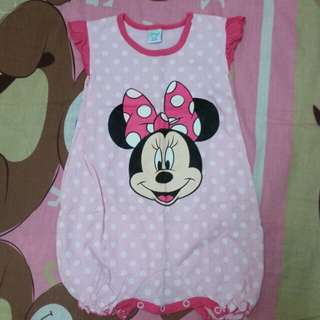 Disney minnie romper