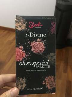 Sleek makeup oh so special palette