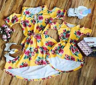 Matchy Dress Set
