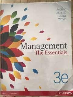 Management the Essentials Pearson