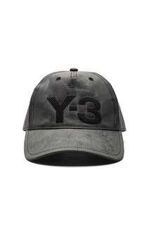Y3 Yohji Yamamoto Cham Cap in Vista Grey
