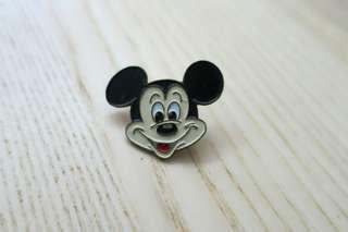 中古迪士尼米奇老鼠徽章pin