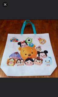 Disney Tsum Tsum Tote/Recycle Bag (Large Size)