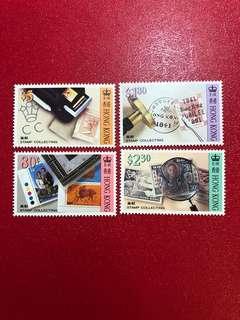 香港郵票-香港集郵郵票一套