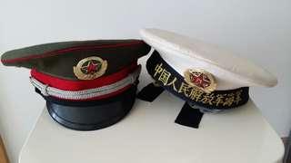 中華人民共和國退役前陸海軍部隊軍帽