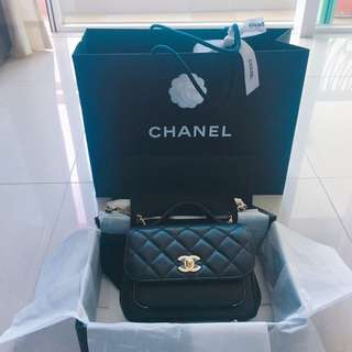 New Chanel Business Affinity Caviar Flap