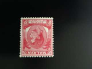 Straits Settlements 8cts . Unissued stamp