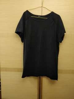 🚚 Bannan 男生還色長版 T-shirt Size L