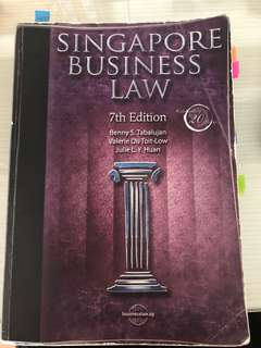 ACC3604 Singapore Business Law 7th Edition