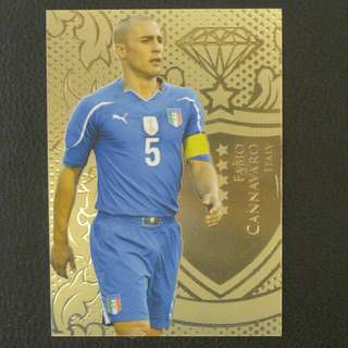 2011 Futera Gold Limited Edition - Fabio CANNAVARO #Italy