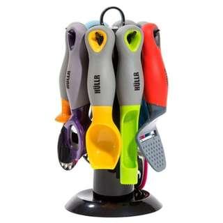 711. HULLR 9-Piece Kitchen Gadgets Tools Set