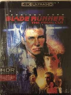 Blade Runner 4K uhd & bluray