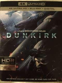 Dunkirk 4K UHD & Blu ray
