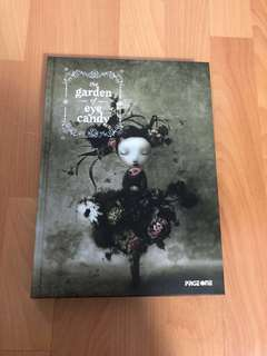 The Garden of Eyecandy art illustration book
