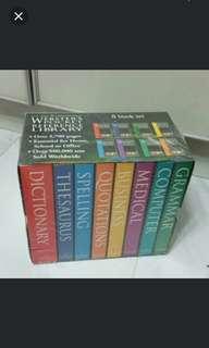 BN Sealed Webster's pocket reference library 8 books set